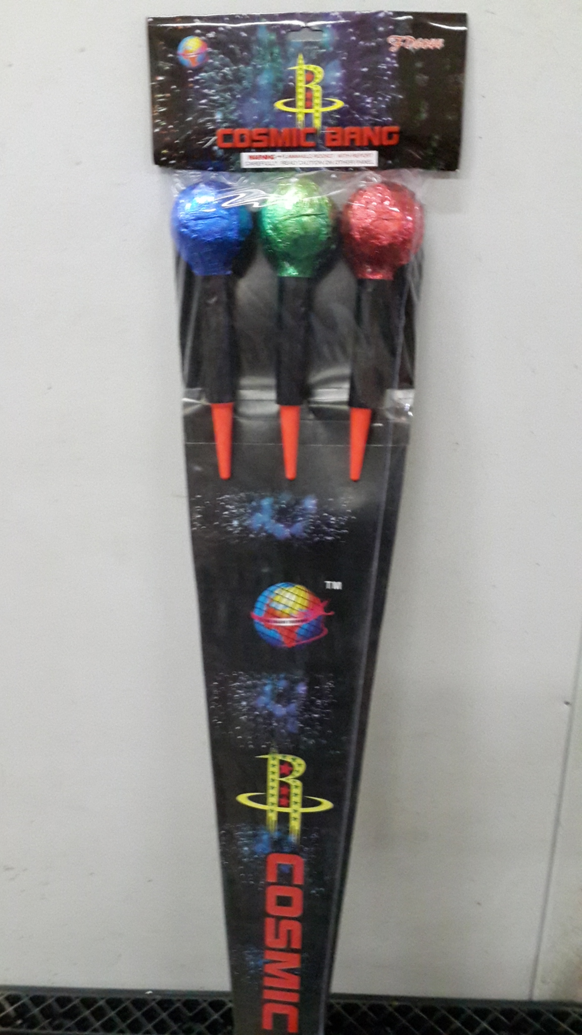 Cosmic Bang Rockets 3-Pack