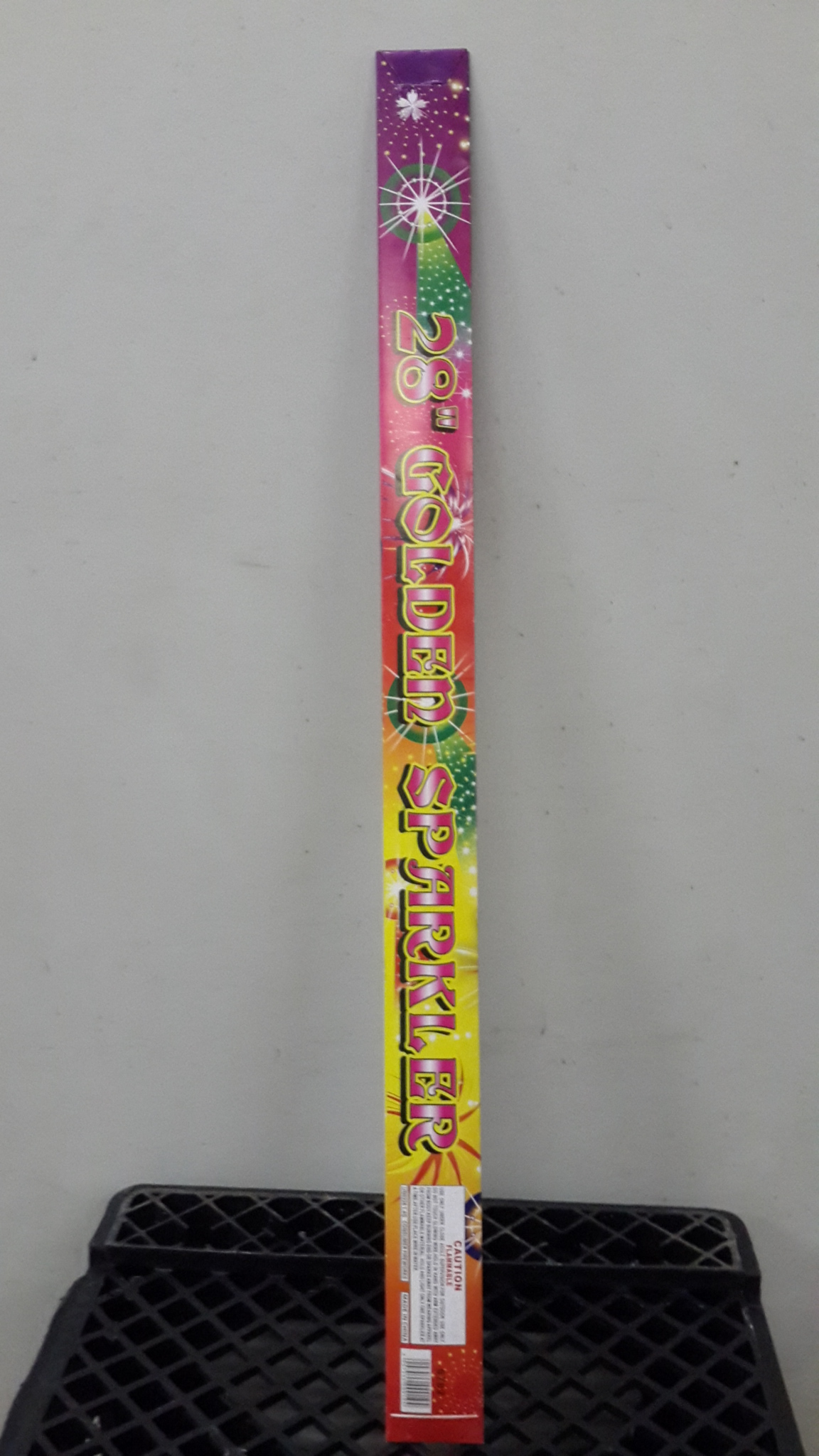 28 Inch Golden Sparklers 6 pieces