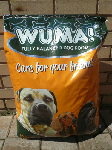 WUMA 20kg dog food
