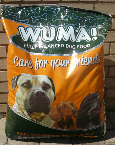 WUMA 40kg dog food